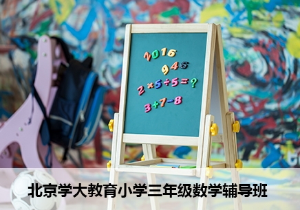 北京小学三年级数学一对一辅导班