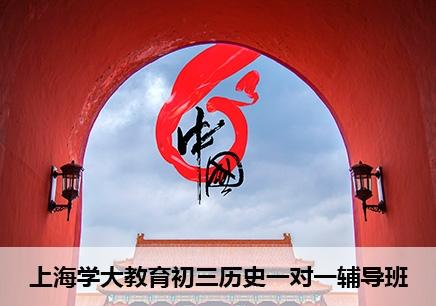 上海初三历史一对一辅导机构