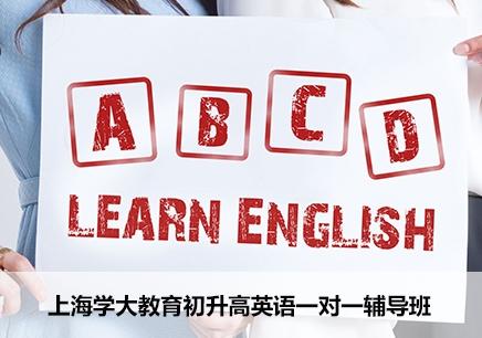 上海初升高英语一对一辅导班
