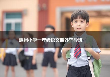 惠州小学一年级语文补习班