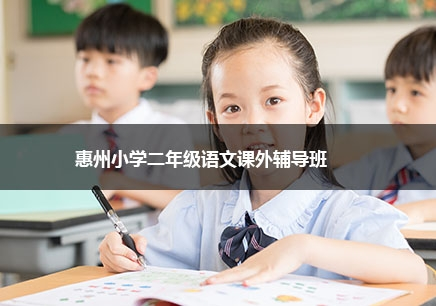 惠州小学二年级语文课外补习班