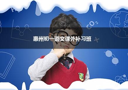 惠州初一语文一对一辅导课程