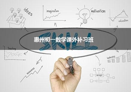 惠州初一数学一对一辅导课程
