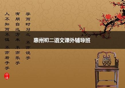 惠州初二语文一对一辅导课程