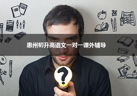 惠州初升高语文一对一辅导课程