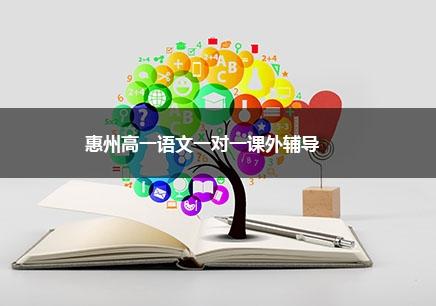 惠州高一语文一对一辅导课程