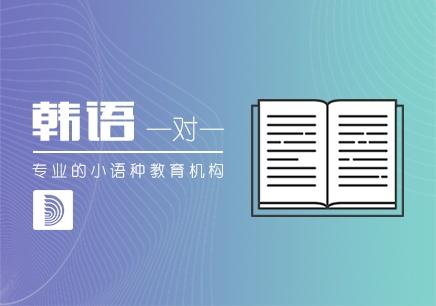 郑州韩语口语1v1