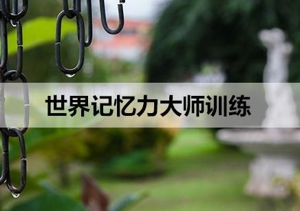 南京世界记忆力大师培训机构