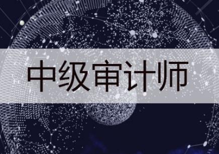 北京中级审计师培训