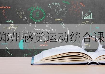 郑州感觉运动统合课培训