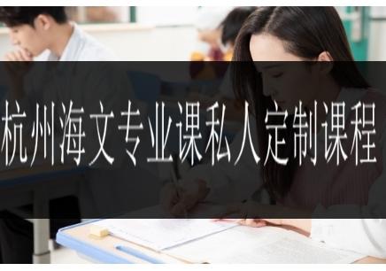 杭州海文专业课私人定制课程