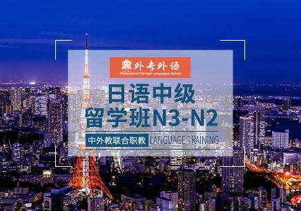 成都中级日语留学培训班