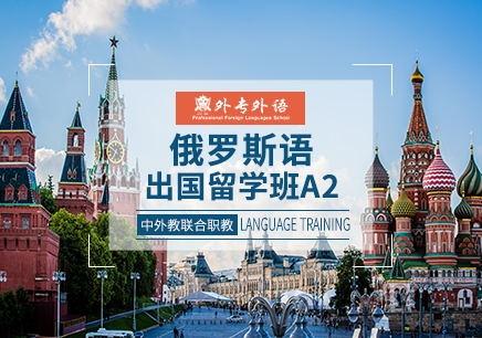 成都俄语中级留学班