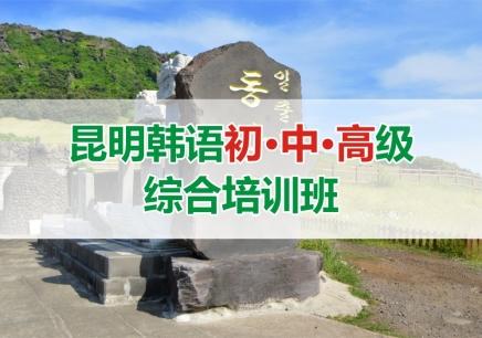 昆明韩语初中高级综合培训班