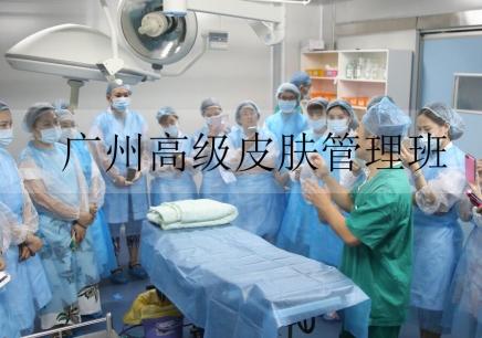 广州高级皮肤管理班