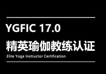 YGFIC17.0精英瑜伽教练认证