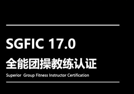 SGFIC17.0全能团操教练认证课程
