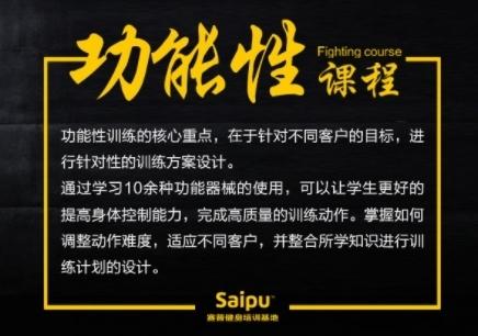 上海赛普功能性训练课程