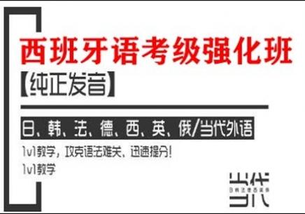郑州西班牙语考级强化培训班